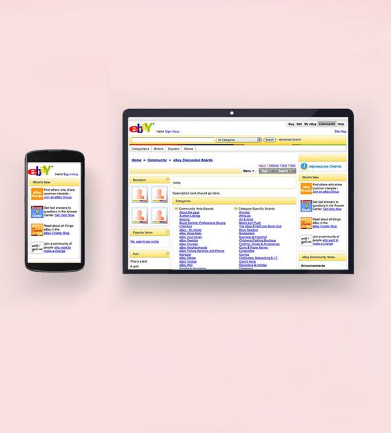Ebay Inc. - Web UI - UX Front End Development