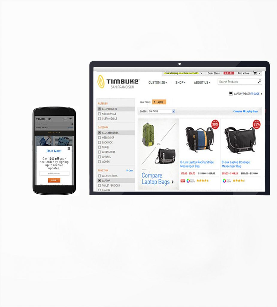 Timbuk2 Inc. - Online Store