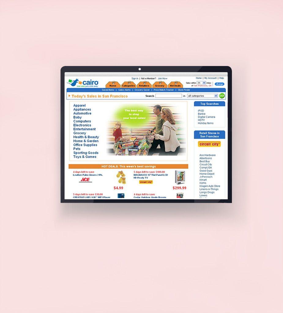 Cairo Inc. - Web SEO Development, Content Production, Marketing Automation, Web UI - UX Design
